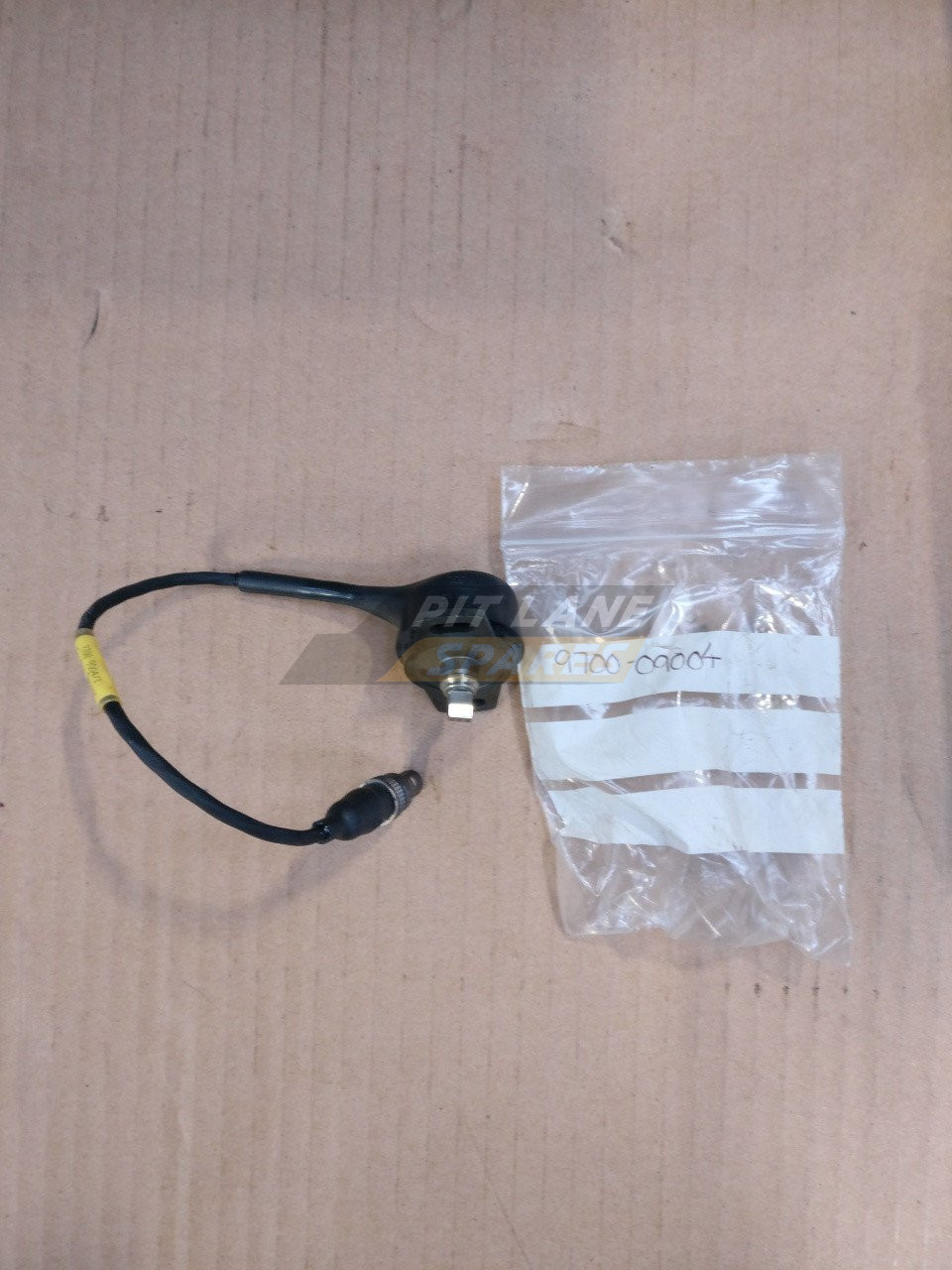 STEERING SENSOR (See separate illustration for optional steering sensor)