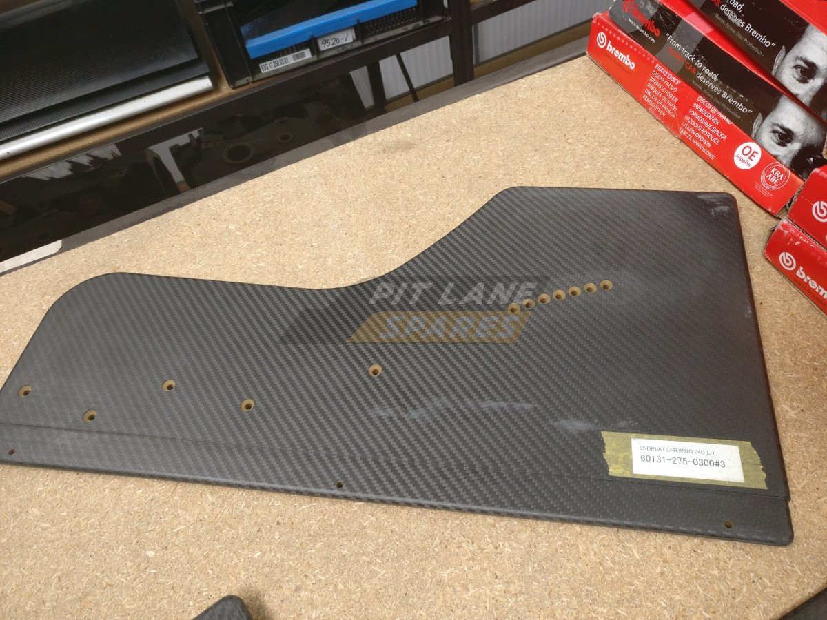 FRONT WING END PLATE LH