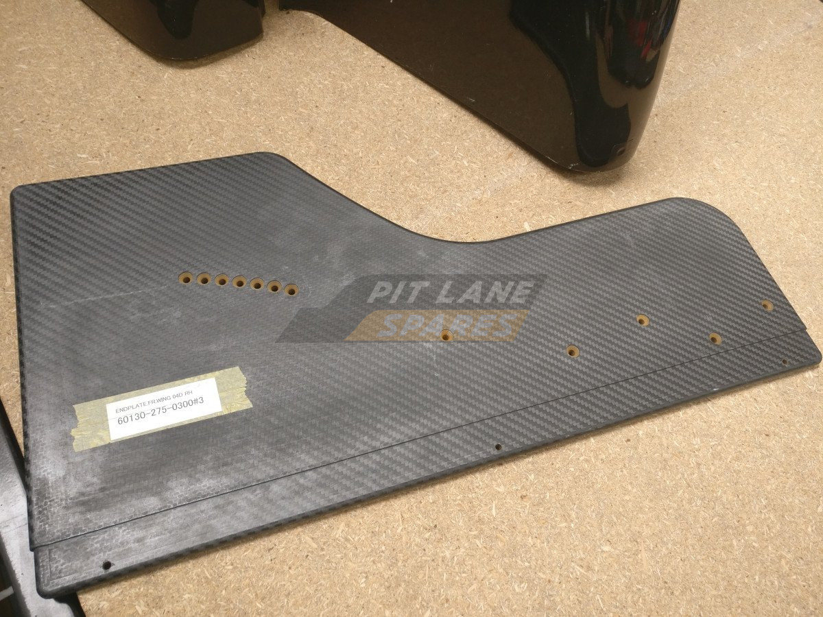 FRONT WING END PLATE RH